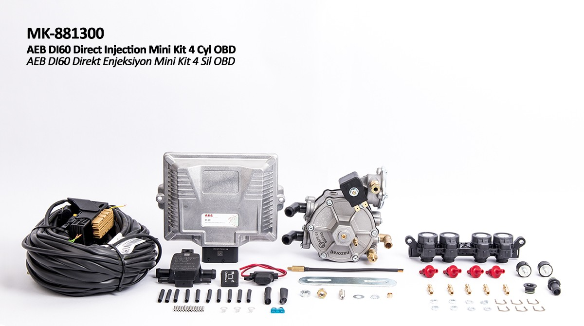 AEB DI60 Mini Kit 4 Sil OBD