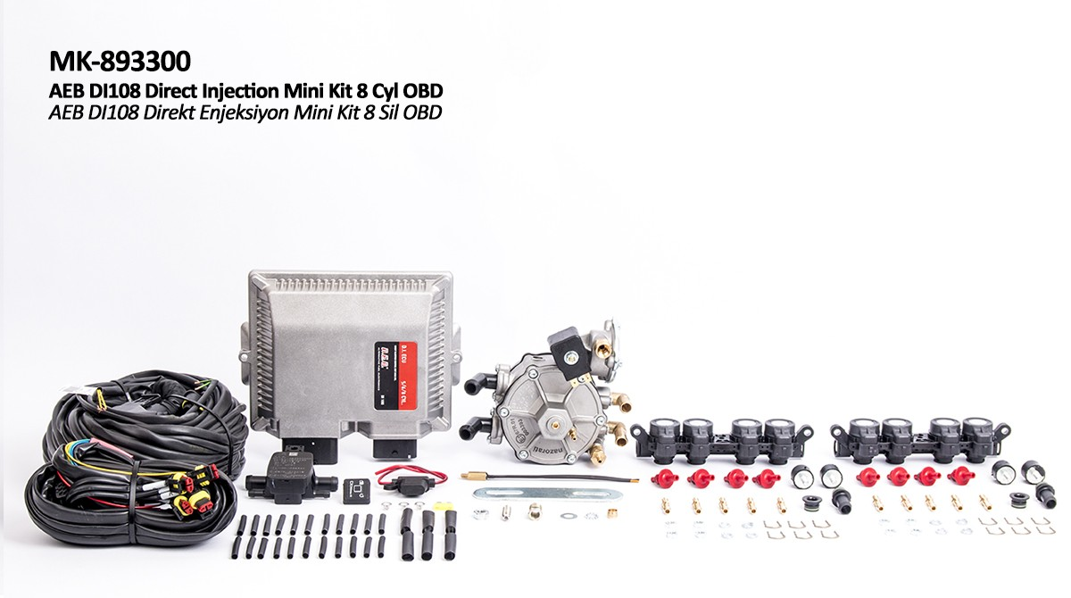 AEB DI108 Mini Kit 8 Sil OBD